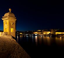 Valletta at Sunset by Robert Mifsud