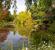 Claude Monet's water garden in Giverny by Alex Cassels