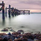 The Old Pier by Don Alexander Lumsden (Echo7)