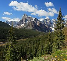 Valley of the Ten Peaks by Michael Collier
