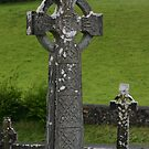 High Crosses at Turlough Abbey by Éilis  Finnerty Warren