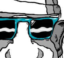 Sunglass Thug Sticker