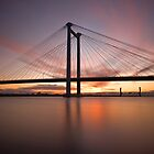 Cable Bridge - Kennewick, Washington by RondaKimbrow