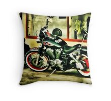 A fire burning in my heart..... Throw Pillow