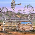 """Ned Kelly on Guard Duty"" EJCairns Original SOLD by EJCairns"
