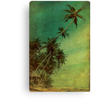 Tropical Vestige Canvas Print