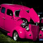 """Pretty in Pink"" - Hot Rod by Sophie Lapsley"