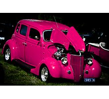 """""""Pretty in Pink"""" - Hot Rod Photographic Print"""