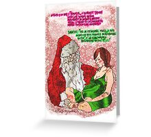 Pregnancy: Naughty and Nice Names Greeting Card