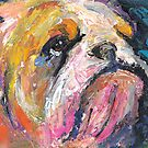 Impressionistic Bulldog painting #2 Svetlana Novikova by Svetlana  Novikova