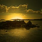 THE SUN GOING DOWN  by leonie7