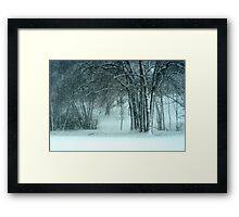 ........this is the South? Framed Print