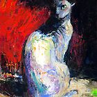 Sphynx Cat painting #32 Svetlana Novikova by Svetlana  Novikova