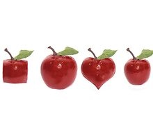 odd shaped cherries by morrbyte
