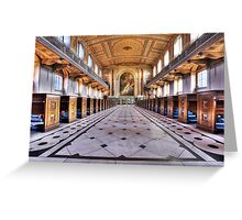 Greenwich Royal Naval College Chapel Greeting Card