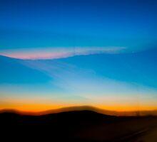 Desert Sunset by Wanda Dumas