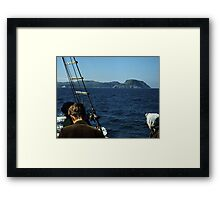 Islands in a Cold Sea Framed Print