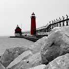 Lake Michigan Shines by Doty