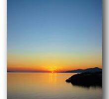 Sunset in Greece by John44