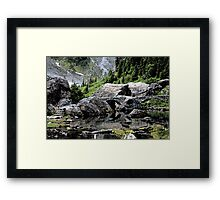 There May Be Trolls 6 Framed Print
