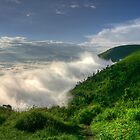 Clouds in the Crater by Paul Duckett