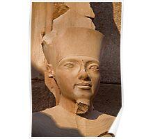 Egypt. Luxor. Karnak Temple. Pharaoh. Poster