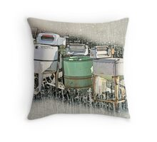 Remember Mama's Washer? Throw Pillow