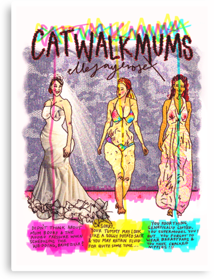 Pregnancy: Catwalk Mums by ellejayerose