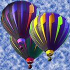 Ballon Times Three by John Netto