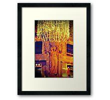 Sparkling Crown Framed Print