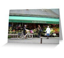 'AQUARELLE' Greeting Card