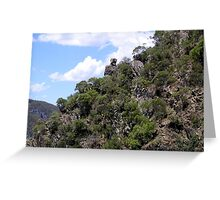 The Road to Mount Morgan Greeting Card
