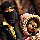 Bedouin mother and daughter, Sinai by Guy Carpenter
