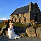 Church Of The  Good Shepherd. Tekapo, South Island, New Zealand by Ralph de Zilva