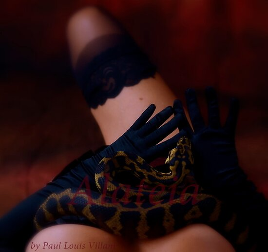 the snake charmer by Alateia
