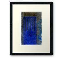 The Door That Led to the Disillusionment of My World Framed Print