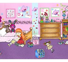 Where's Charlie? - bedroom by jadeboylan