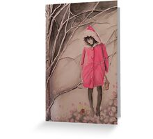 Red hat- Cappuccetto rosso Greeting Card