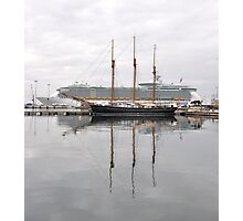 Old and New , Great ways to travel.. Photographic Print