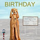 The Scream World Tour South Pole Happy Birthday by Eric Kempson