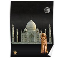 The Scream World Tour India Taj Mahal Poster