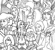 Doodle Mix by doodlesbydanni