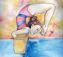 Gymnastic Champion by DarkRubyMoon