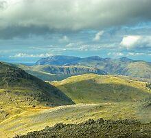 Bowfell... North-West Views by Jamie  Green