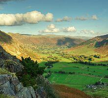 Langdale Valley Views by Jamie  Green