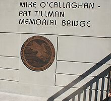 Commemorative Plaque for the O'Callaghan Tillman Bridge by genez