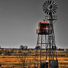 Texas Wind Mill by Scott Lebredo