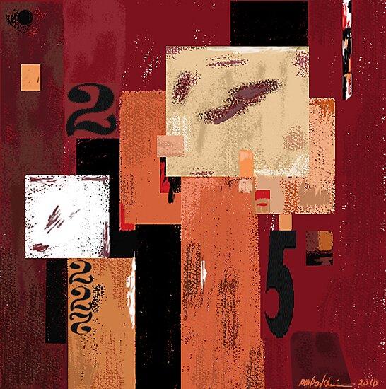 """Red-Orange 2-5"" by Patrice Baldwin"