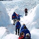 peoplescapes #249, glacier climb    by stickelsimages