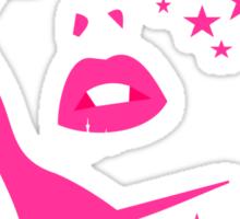 Barbie face Sticker